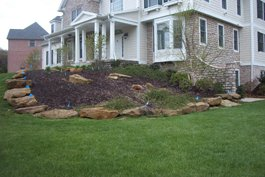 Retaining Walls Wexford PA - Commercial Landscaping, Field Maintenance - Pro Scapes Unlimited - 7a